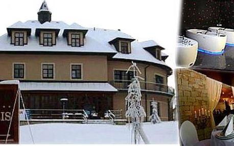 3 denní lyžařský pobyt SNOWHILL v Mariánských Lázních pro dva a Vaše děti
