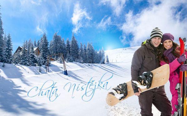 Hurá na hory jen za 199 Kč za osobu a noc! Chata Nístějka ve Vysokém nad Jizerou, jen 900m od SKI areálu Šachty!