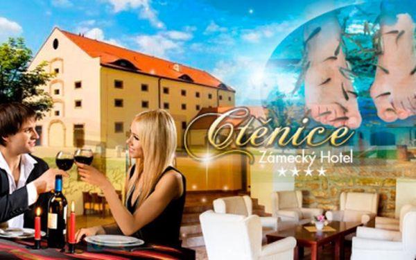Pobyt v 4* Zámeckém Hotelu Ctěnice na 2 nebo 3 dny pro 2 osoby včetně romantické večeře a bohaté snídaně!
