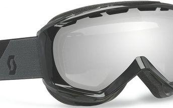 Univerzální lyžařské brýle Scott Goggle Reply black/silver chrome