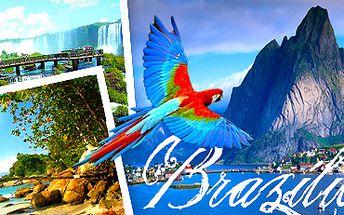 Brazílie: 16 dní luxusní exotiky. Cena včetně ubytování a letenky!