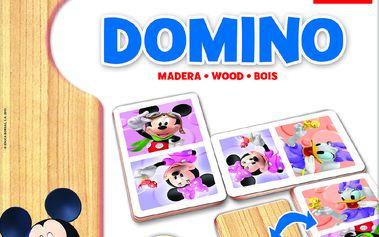 Domino Minnie/Mickey dřevěné