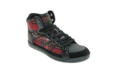 Dámské černé kotníkové boty se vzorem Beppi