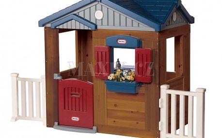 Dřevěný domeček Woodside Cottage Little Tikes