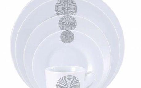 Jídelní sada talířů 30 ks OSLO, RENBERG RB-80107