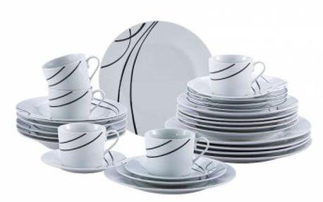 Jídelní sada talířů 30 ks OSLO, RENBERG RB-80106