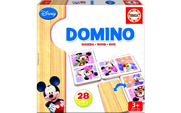 Domino Minnie/Mickey dřevěné