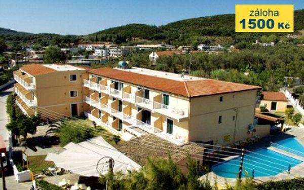 Řecko, oblast Korfu, letecky, polopenze, ubytování v 3* hotelu na 8 dní