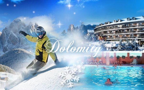 6 DNÍ v DOLOMITECH v blízkosti Val di Fiemme pro 2 osoby se snídaní, FITNESS, WELLNESS a bazénem!