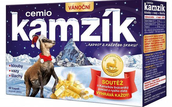 Cemio Kamzík kolagen na klouby 60 tablet