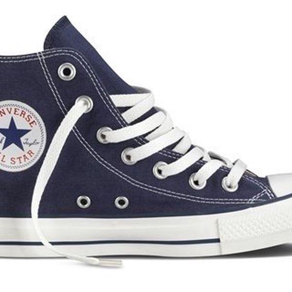 Tmavě modré kotníkové tenisky Converse