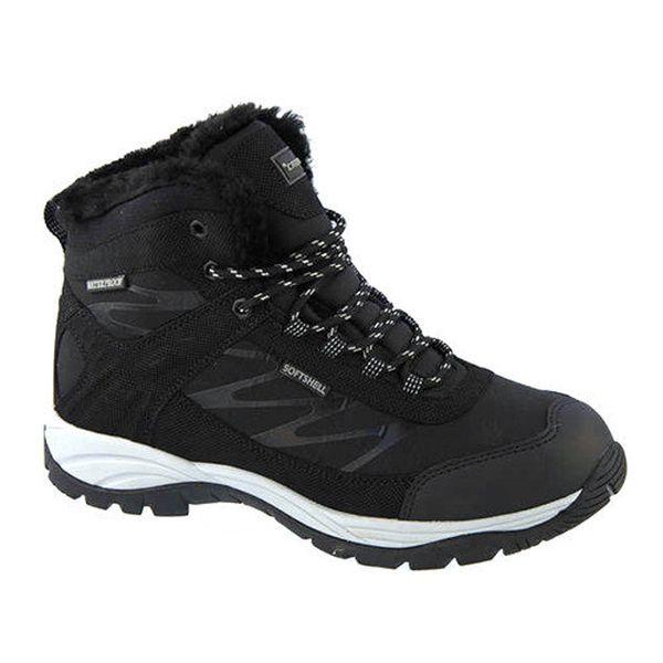 Pánské zimní kotníkové boty v černém provedení Crosby