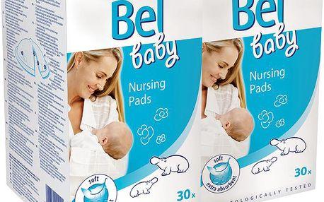 Bel Baby prsní vložky – duopack (2 x 30 ks)