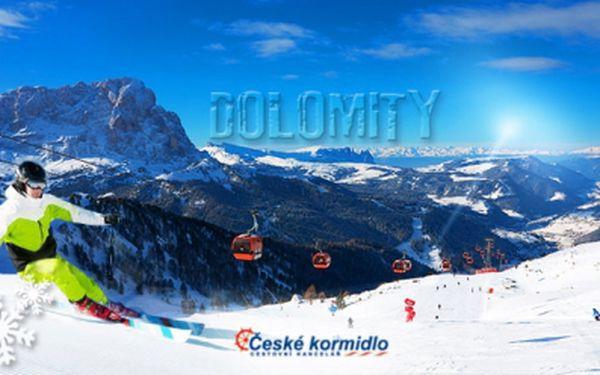 TŘI DNY lyžování v italských DOLOMITECH, Paganella! V ceně DOPRAVA, HOTEL*** s POLOPENZÍ, a SKIPAS!
