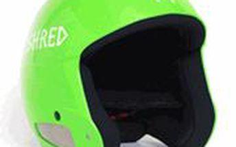 Helma Shred Mega Brain Bucket Zelená/Bílá