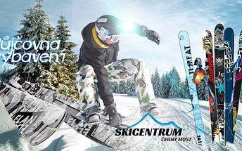 Vypůjčení lyžařského a snowboardového vybavení včetně pojištění na 7 dní za skvělou cenu !