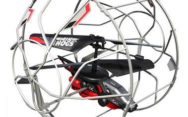 AIR HOGS RC Roller Copter Helikoptéra, která létá, jezdí po podlaze, stropě a stěnách