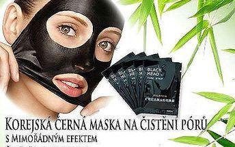 Čistící korejská černá maska vč. doručení