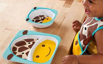 Dětský jídelní set - Žirafa