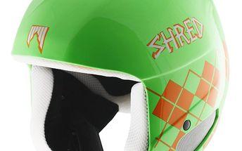 Závodní helma Shred Brain Bucket z nejmodernějších materiál