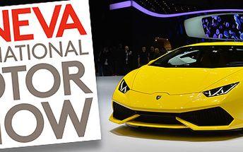 Zájezd na autosalon Ženeva 2015: nejslavnější světový autosalon! Vč. vstupenky.