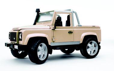 Model Auto LAND ROVER PICK UP bílé