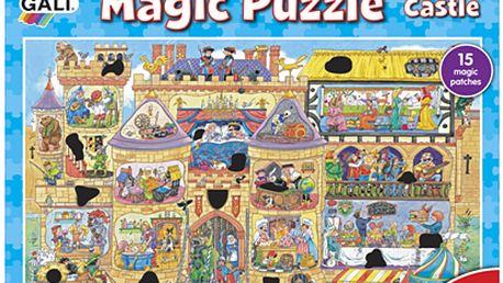 Magické puzzle hrad 2* 50 dílků