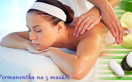 5x sportovní rekondiční a regenerační masáž! Zbavte se bolestí zad a kloubů u zkušeného maséra.