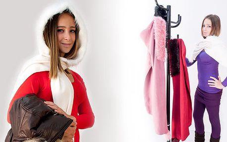 Šála s kapucí - šik módní doplněk!