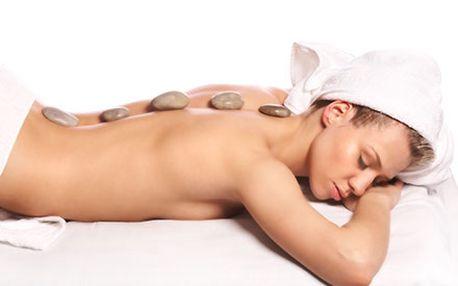 Královna masáží - masáž horkými lávovými kameny. N...