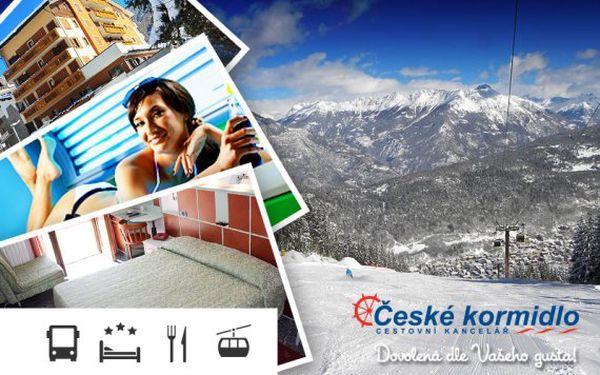 5denní lyžařský zájezd do Itálie – Aprica