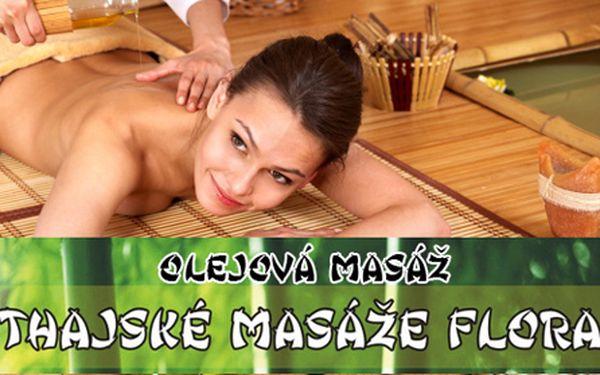 Masáže od rodilých Thajek v salonu Thajské masáže Flora! 60min. pravá THAJSKÁ OLEJOVÁ masáž či thajská masáž ZAD a ŠÍJE v profesionálním salonu! Luxusní odpočinek díky šikovným rukám masérek na Praze 10!