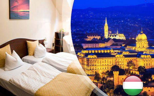 Romantika v Budapešti pro DVA na 3 dny s 3* ubytováním