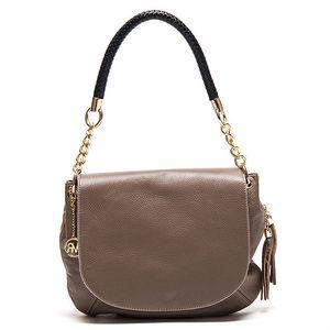 Dámská kožená kabelka s kombinovaným poutkem Roberta Minelli