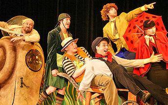 Vstup na dětské představení Divadla Aha! v Divadle Gong