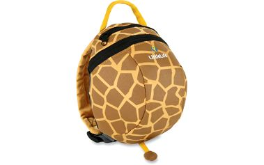Stylový dětský batůžek Animal Toddler Daysack Žirafa, lze připnout vodítko