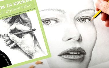 Kniha + DVD Portrét krok za krokem aneb tajemství obyčejné tužky