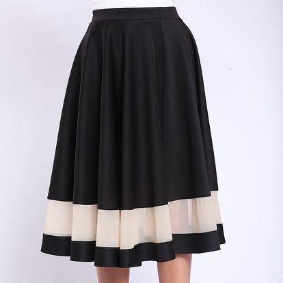 Dámská sukně s kontrastním pruhem Melli London