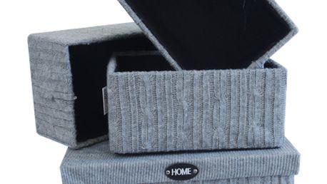 Velmi módní úložné krabice do Vašeho bytu