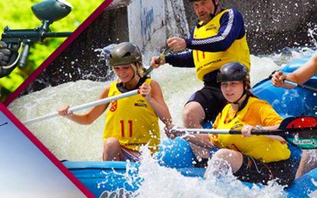 Netradiční sportovní víkend. Raftová akademie: skvělá zábava i adrenalin!