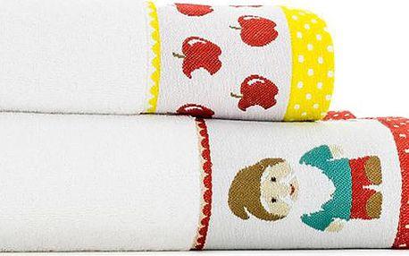 Pohádkový set - 2ks ručníky Dwarves (50x100 cm +70x140 cm)
