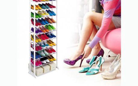 Nemáte dostatek místa k uložení bot? S tímto botníkem pro 30 párů bot budete mít boty pro jednou uklizeny. Sleva 40%