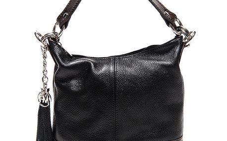 Dámská černá kabelka s třásněmi Roberta Minelli