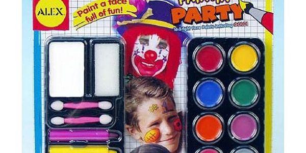 Obličejové barvy!
