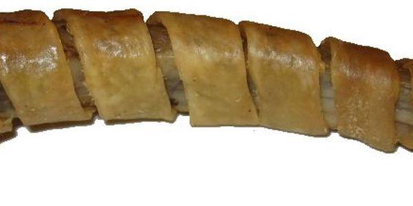 Sušené vepřové žebírko obalené voňavou vepřovou kůží