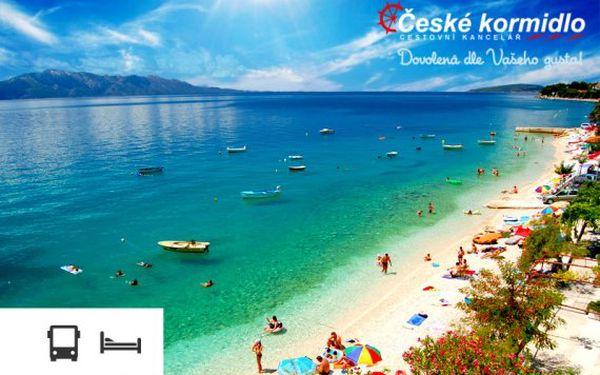 Rodinná dovolená u moře v Chorvatsku