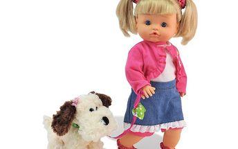 Bamboline Nena Pipi s pejskem