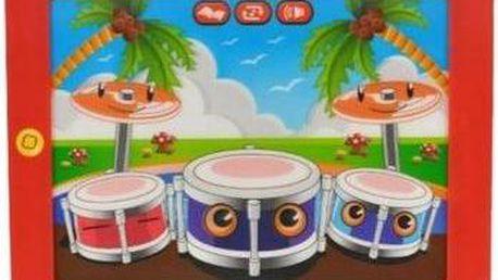 Elektronický tablet Mikro 3D bubny se světlem a zvukem