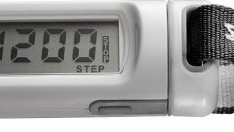 Malý a lehký krokoměr na krk Silva Ex10 Distance Black/White