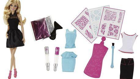 Barbie třpytivé studio, oslnivé šaty pokaždé jinak